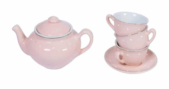 ceramic tea set - Moulin Roty toys Australia