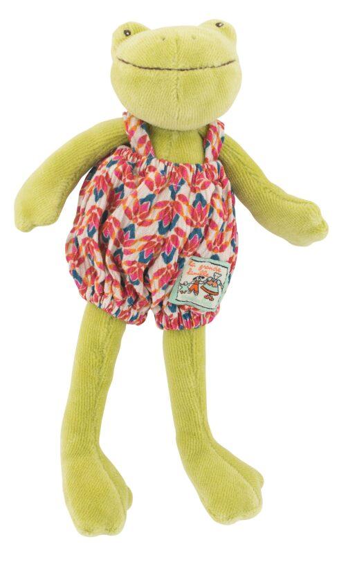 soft toys, plush toys, soft frog, La Grande Famille, Moulin Roty toys Australia
