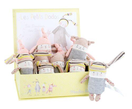 Les petit dodos - rattles - Moulin Roty toys Australia