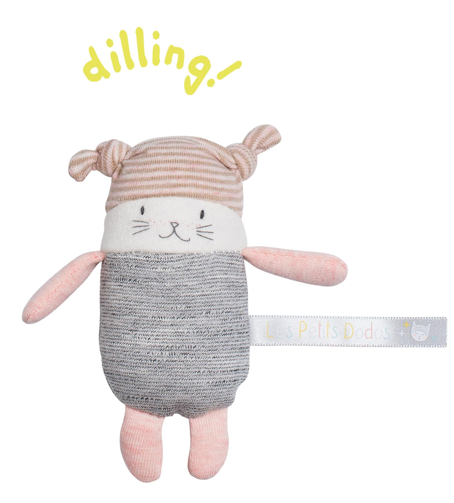 Les petits dodos - moon rattle - Moulin Roty toys Australia