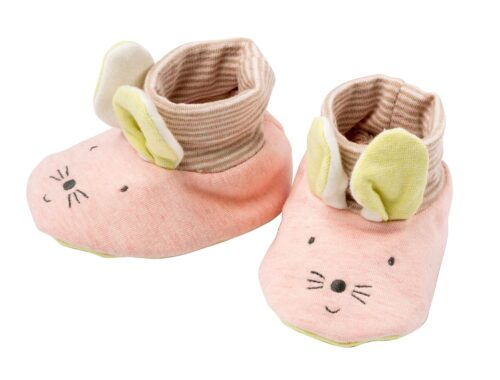 baby slippers, mouse slippers, les petits dodos, Moulin Roty toys Australia