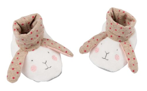baby slippers, rabbit slippers, les petits dodos, Moulin Roty toys Australia