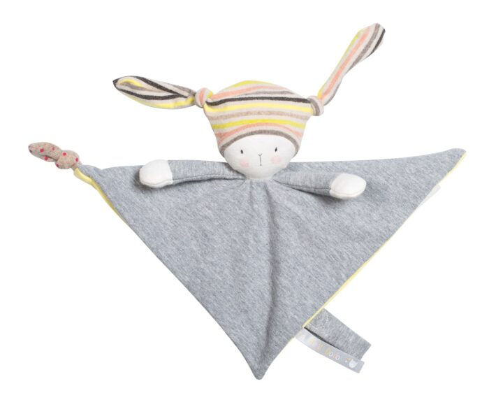 baby toy comforter with soother, les petits dodos, Moulin Roty toys Australia