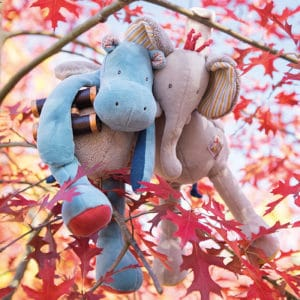 les papoum in the autumn trees - soft toys wholesale australia