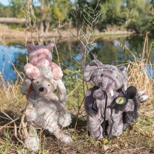 les tout doux at the river - plush toys wholesale australia