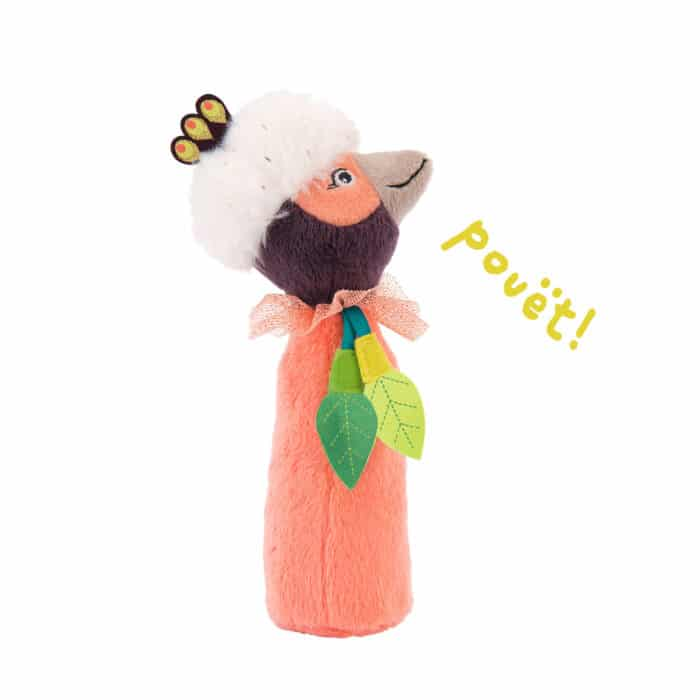 bird squeaky rattle - wholesale toys