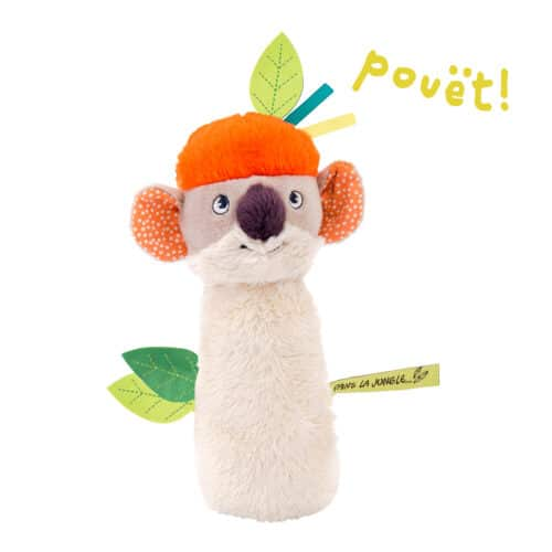 koala squeaky rattle - wholesale toys