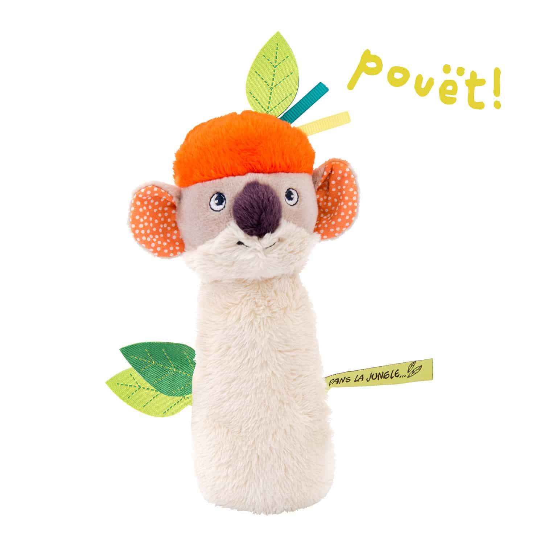 koala squeaky rattle - wholesale toys