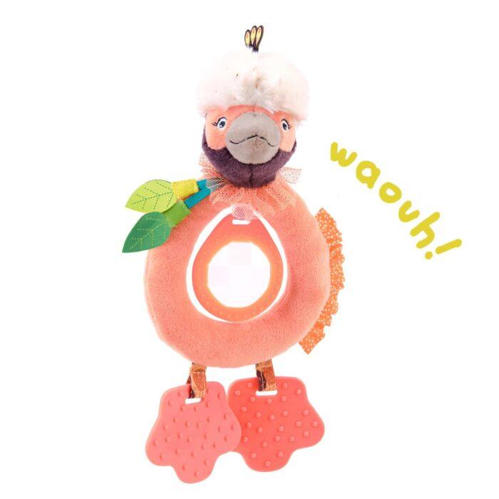 bird teether rattle - wholesale toy
