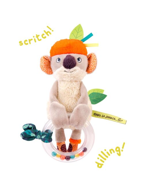 koala bead rattle - wholesale toy