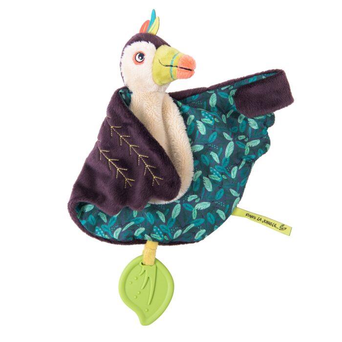 jungle animal toucan comforter - wholesale