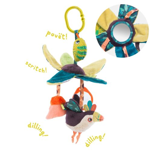 jungle toys activity leaves - wholesale