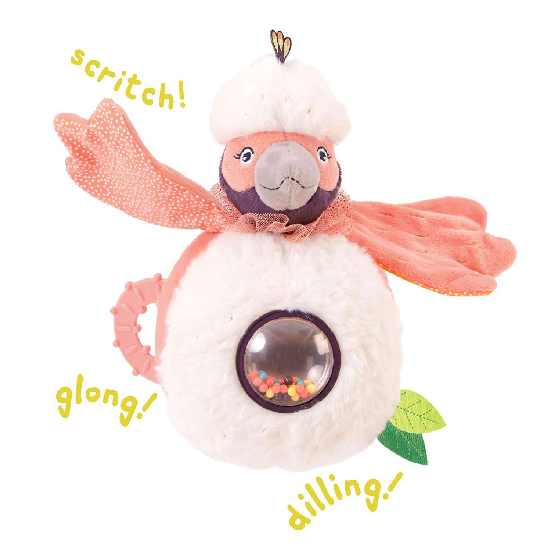 ball rattle jungle animal toys - wholesale