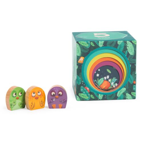 jungle animal stack up cubes