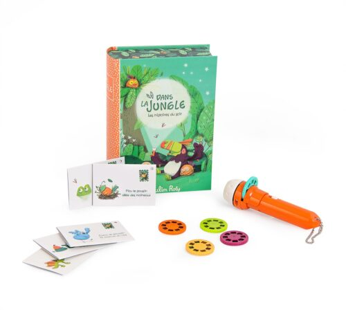 jungle animal storybook torch