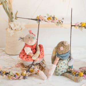 Jolis trop beaux - the pretty too uglies soft toys moulin roty