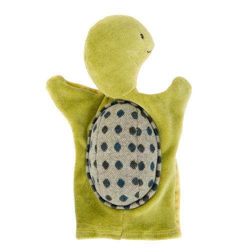 camille the turtle handpuppet - la grande famille