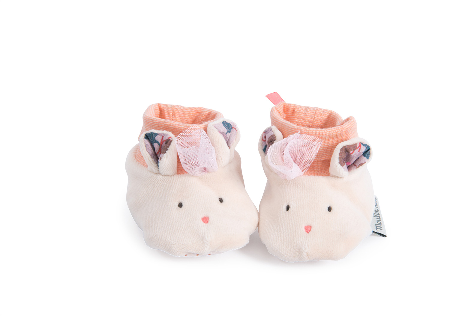 il etait mouse slippers - baby slippers