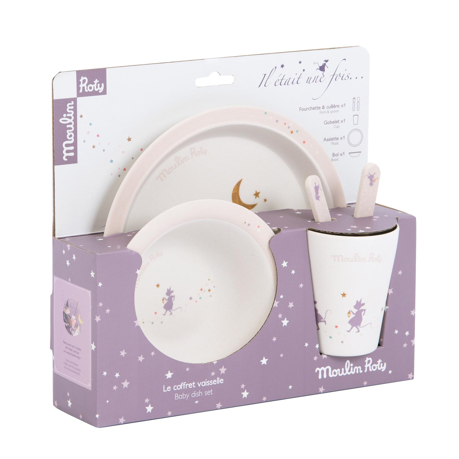 il etait dish set - once upon a time - tableware