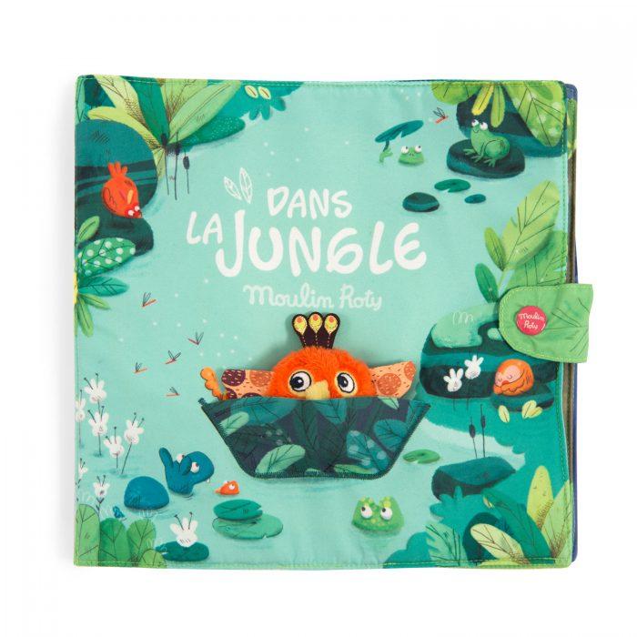 la jungle large fabric activity book