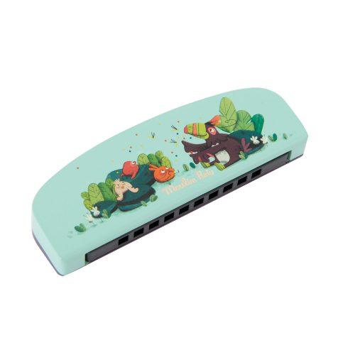 dans la jungle harmonica