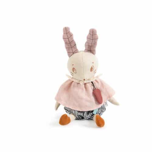 musical rabbit - apres la pluie - musical soft toys