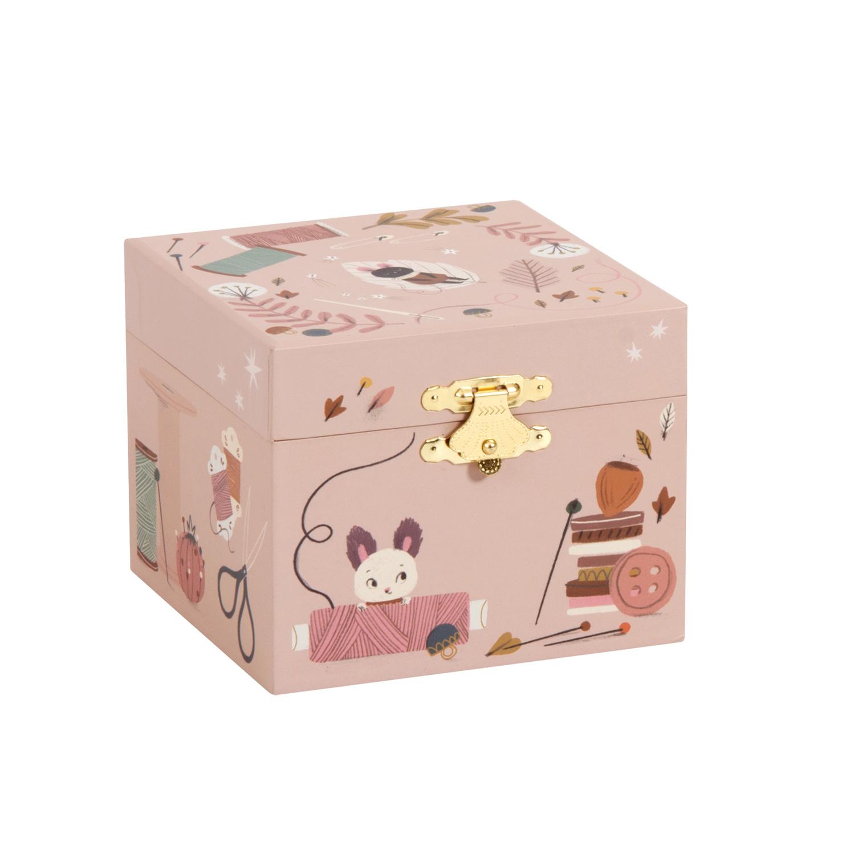 apres la pluie - musical jewellery box