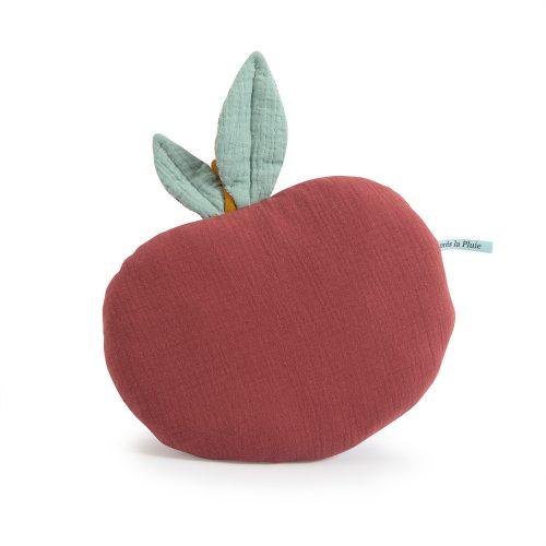 apres la pluie - apple cushion - childrens decor