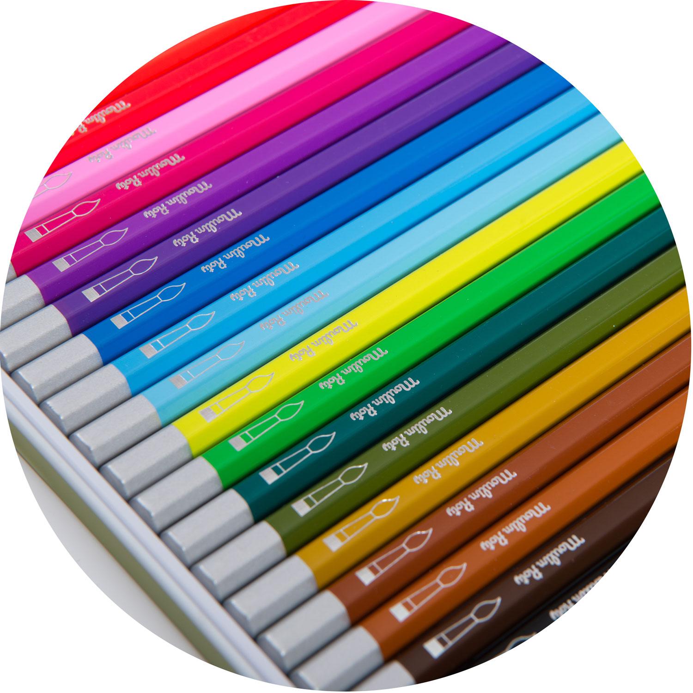 le jardin watercolour pencils