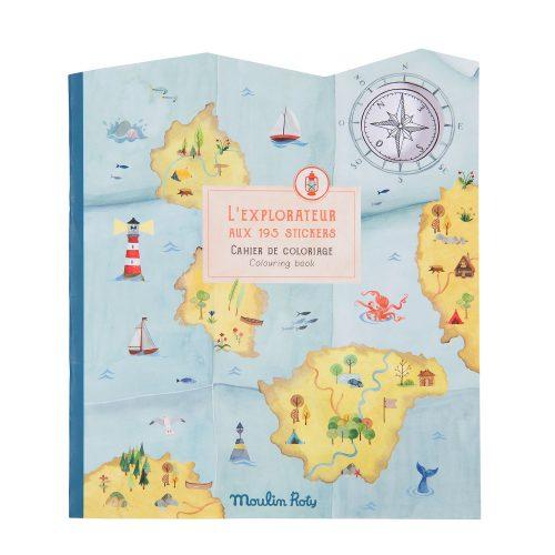 explorer sticker book