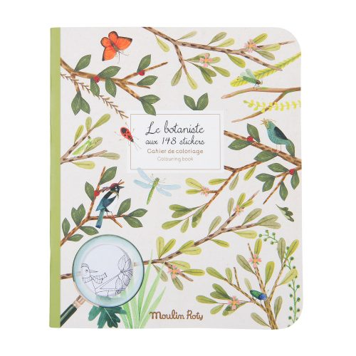 le jardin sticker book