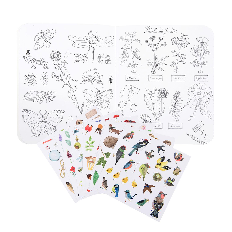 le jardin sticker book